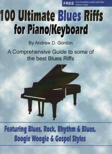 100 Ultimate Blues Riffs  Piano  Book with CD ADG010BKCD