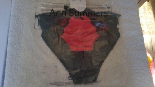 Ann Summers Charlotte Briefs Black /& Red Size 20 NWT