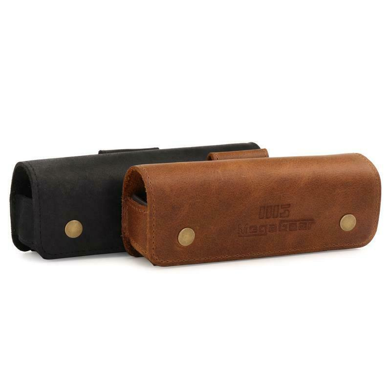 MegaGear Genuine Leather Camera Case for DJI Osmo Pocket