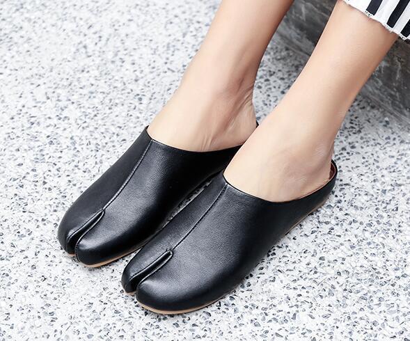 Dedo del pie cuadrado para mujer Tacón Bajo Mulas Pantuflas Pantuflas Pantuflas zapatos de moda informal al aire libre zsell  nueva marca