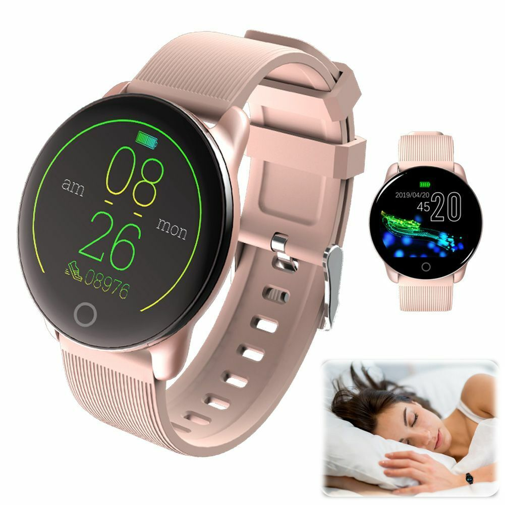 Women Girls Smart Watch Heart Rate Blood Pressure for iPhone Samsung Motorola LG blood Featured for girls heart iphone pressure rate smart watch women
