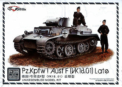 VK18.01 Late top quality Flyhawk 3006 1//72 Pz.Kpfw I Ausf