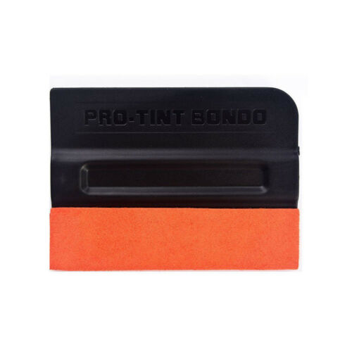 2pcs Pro Tint Bondo Suede Edge Squeegee Teflon Car Wrap Applicator Cleaning Tool