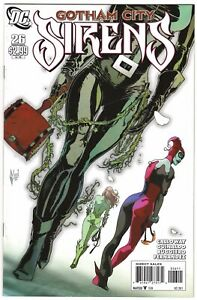Gotham City Sirens #26 VF+ (2011, DC) Final Issue. Harley Quinn, Ivy & Catwoman.