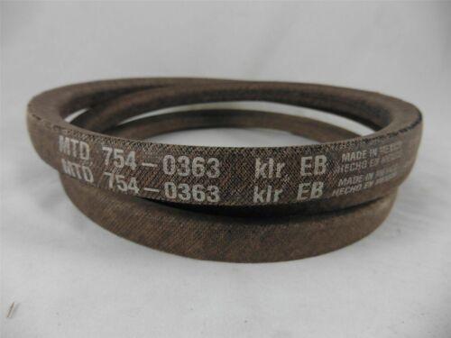 original MTD Gutbrod Keilriemen B 10 Sprint 800 B 114 B 115 TD 4125 Mähwerk