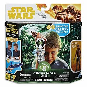NEW-STAR-WARS-FORCE-LINK-2-0-BLUETOOTH-STARTER-SET-amp-HAN-SOLO-FIGURE-E0322