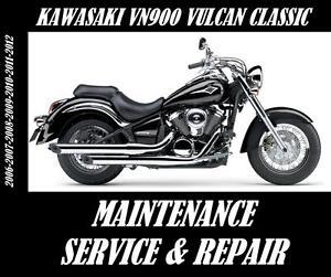 Kawasaki-VN900-Vulcan-Classic-900-Service-Maintenance-Repair-Manual-2006-2012