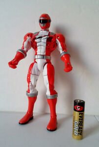 Power-Rangers-Operation-Overdrive-SENTAI-LEGENDS-RED-RANGER-Bandai-Loose