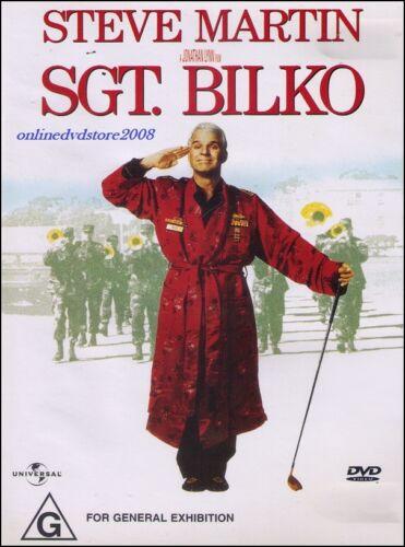 1 of 1 - SGT. BILKO (Steve MARTIN Dan AYKROYD Phil HARTMAN) Comedy Film DVD Region 2 & 4