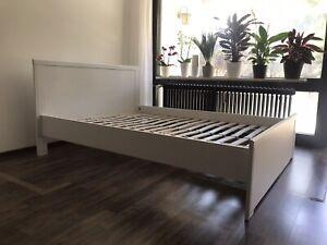 Ikea Bett Skorva 140 Cm Ebay