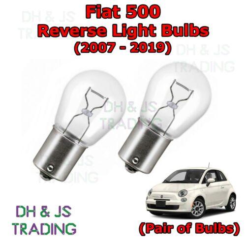 07-19 Fiat 500 Bombillas Luces Bombilla Trasera inversa