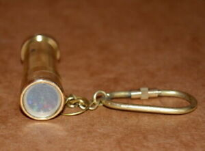 Vintage-2-034-brass-key-chain-kaleidoscope-with-polish-finishing-collectible-gift