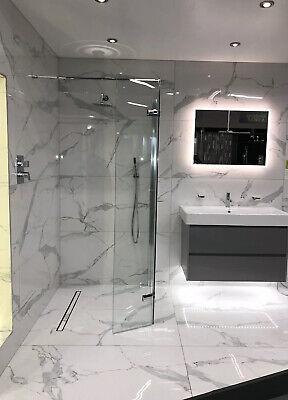 Calacatta Blanco Polished 60x120cm Marble Effect Tile