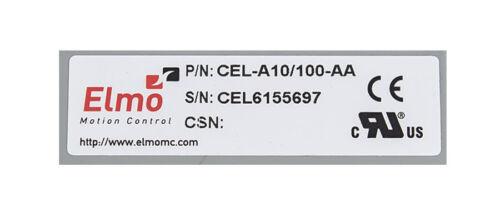 Elmo cel-a10//100-aa control de movimiento