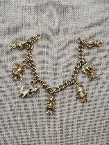 Vintage Wizard Of Oz Charm Bracelet 1960 Return Of