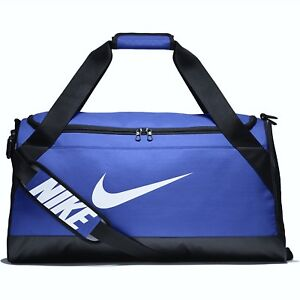 Details about NEW Nike Brasilia Duffel Bag Size Medium Training Gym To Go  Bag BA5334 480 Blue 7916158253b45
