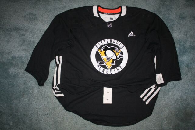 Official NHL Hockey adidas Pittsburgh Penguins Goalie Cut Jersey ...