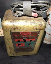 Vintage Sears Craftsman 90 Amp 230 Volt Welder Model 11320303 Rare Piece Works