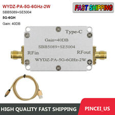 Sbb5089se5004 Microwave Power Amplifier Rf Power Amplifier 5g 6ghz Gain 40db