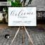 Personnalise-Mariage-inscription-bienvenue-Board-Tableau-moderne-marbre-design-A1-A2-A3 miniature 8