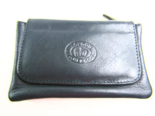 Da Uomo Donna di alta qualità Piccolo Vera Pelle Portamonete Astuccio Portachiavi Holder Wallet