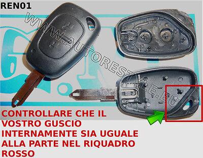 Coque cl/é coquille Renault Clio Twingo Megane Laguna KANGOO 3/touches t/él/écommande
