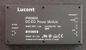 LOT-of-3-FW050A-DC-DC-Converter-48V-36-72V-Range-1-3A-In-5V-10A-Out-Lucent