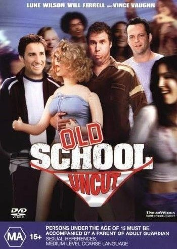 1 of 1 - Old School  - Uncut (DVD, 2003) Will Ferrell Luke Wilson R4 🇦🇺Brand New Sealed