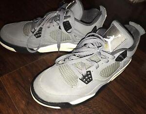 bf246361e0d183 Mens Vintage 2004 Nike Air Jordan IV 4 Retro 308497-001 Cool Grey Sz ...