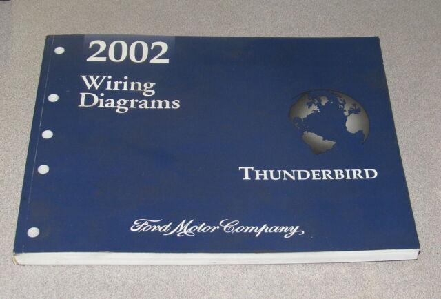 2002 Ford Thunderbird Service Wiring Diagram Manual