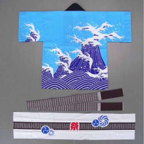 Kids HAPPI Coat Matsuri Traditional Festival Authentic JAPAN Japanese DHK6004