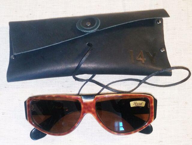 Vintage PERSOL Sunglasses Ratti Giannetto 1983