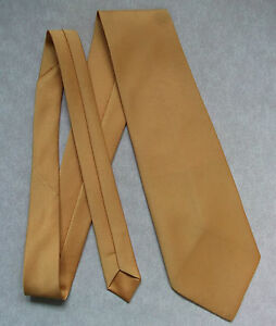 Vintage-TOOTAL-Cravate-homme-Cravate-Retro-Fashion-Jaune-Or-Sunshine-Gold