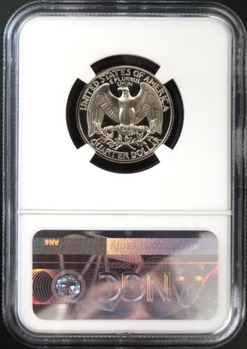 1979 S Type 2 Proof Washington Quarter graded PF 69 Ultra Cameo by NGC!