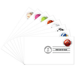 USPS-New-Have-a-Ball-First-Day-Cover-set-of-8