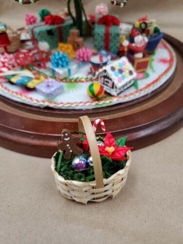 For Westrim Beaded Mini Christmas Tree* UnderTree decoration Christmas Basket #2