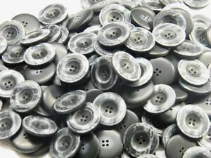100-tolle-Knoepfe-anthrazit-marmoriert-28mm