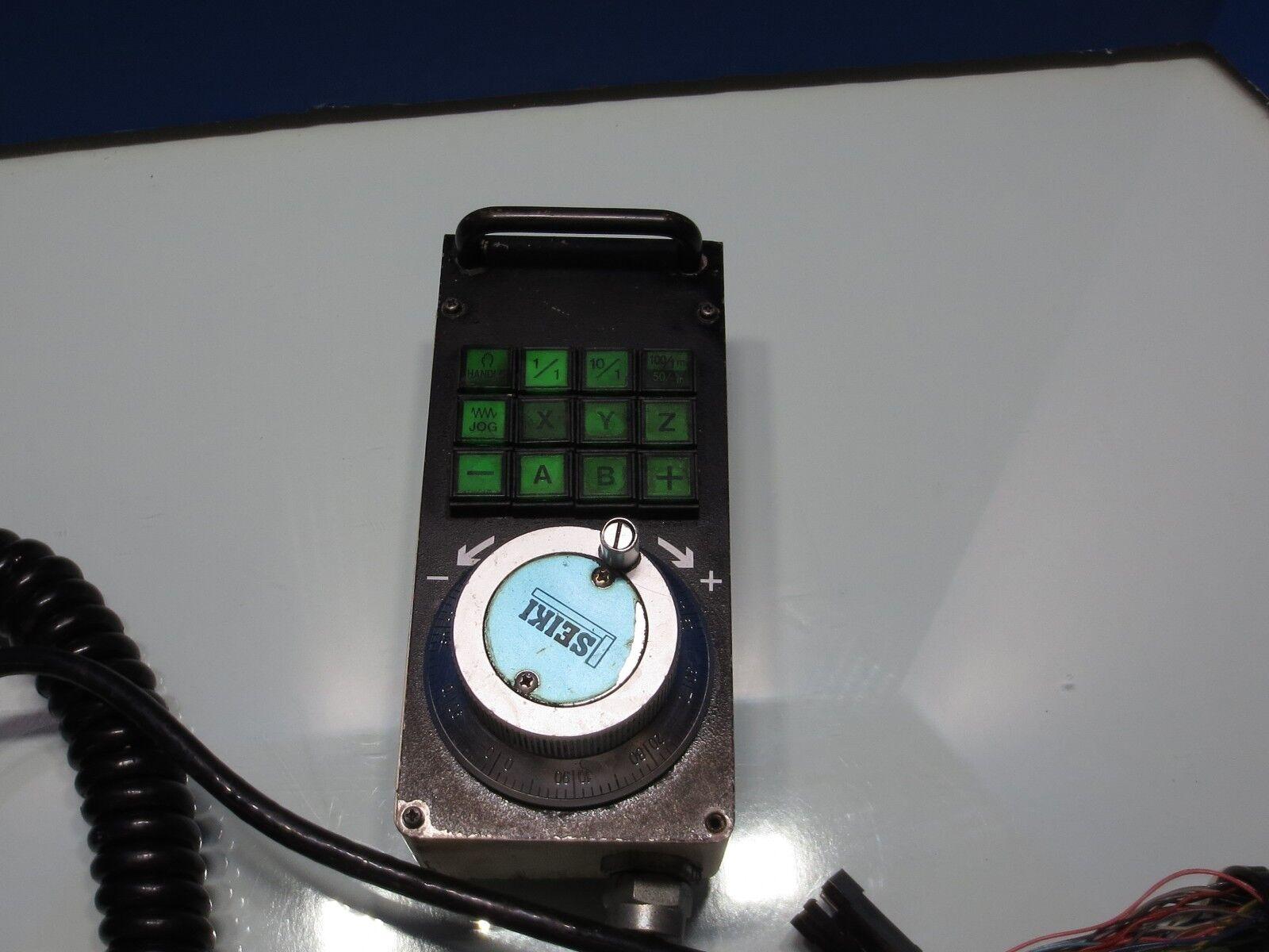 Hitachi codificador Seiki HG500 Hand Held codificador Hitachi Jog Controlador De Control Remoto 8c42fb