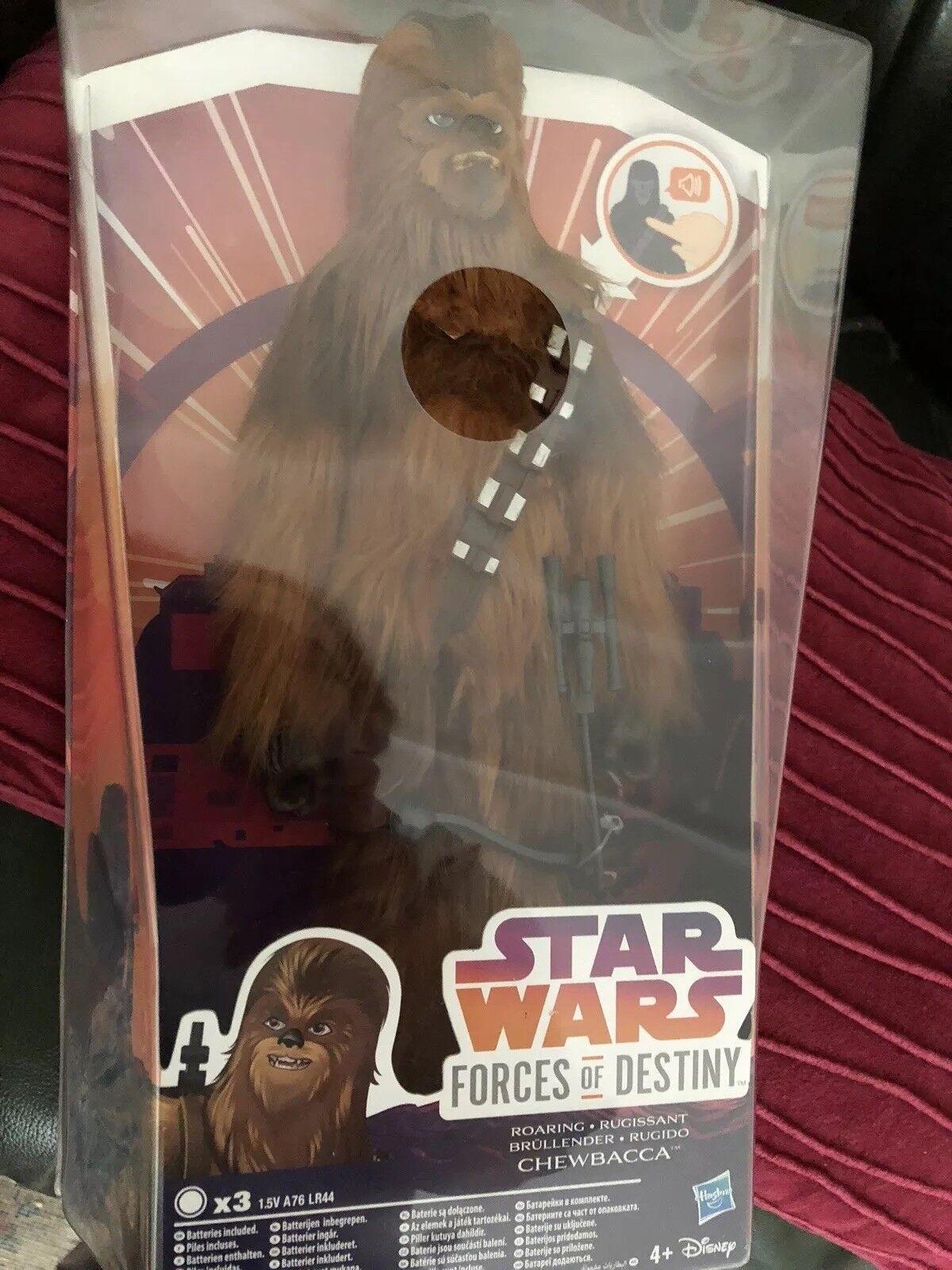 Estrella Wars las fuerzas del destino que habla Chewbacca Figura
