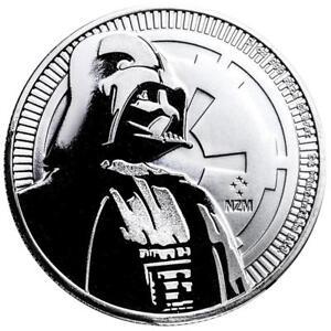 Niue 2 Dollar 2017 Darth Vader Star Wars Anlagemünze 1