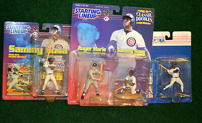 Roger Maris Sammy Sosa 1999 Starting Lineup Classic Doubles Yankees Cubs