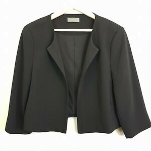 JACQUI-E-Womens-Black-Jacket-Size-AU-14-or-US-10