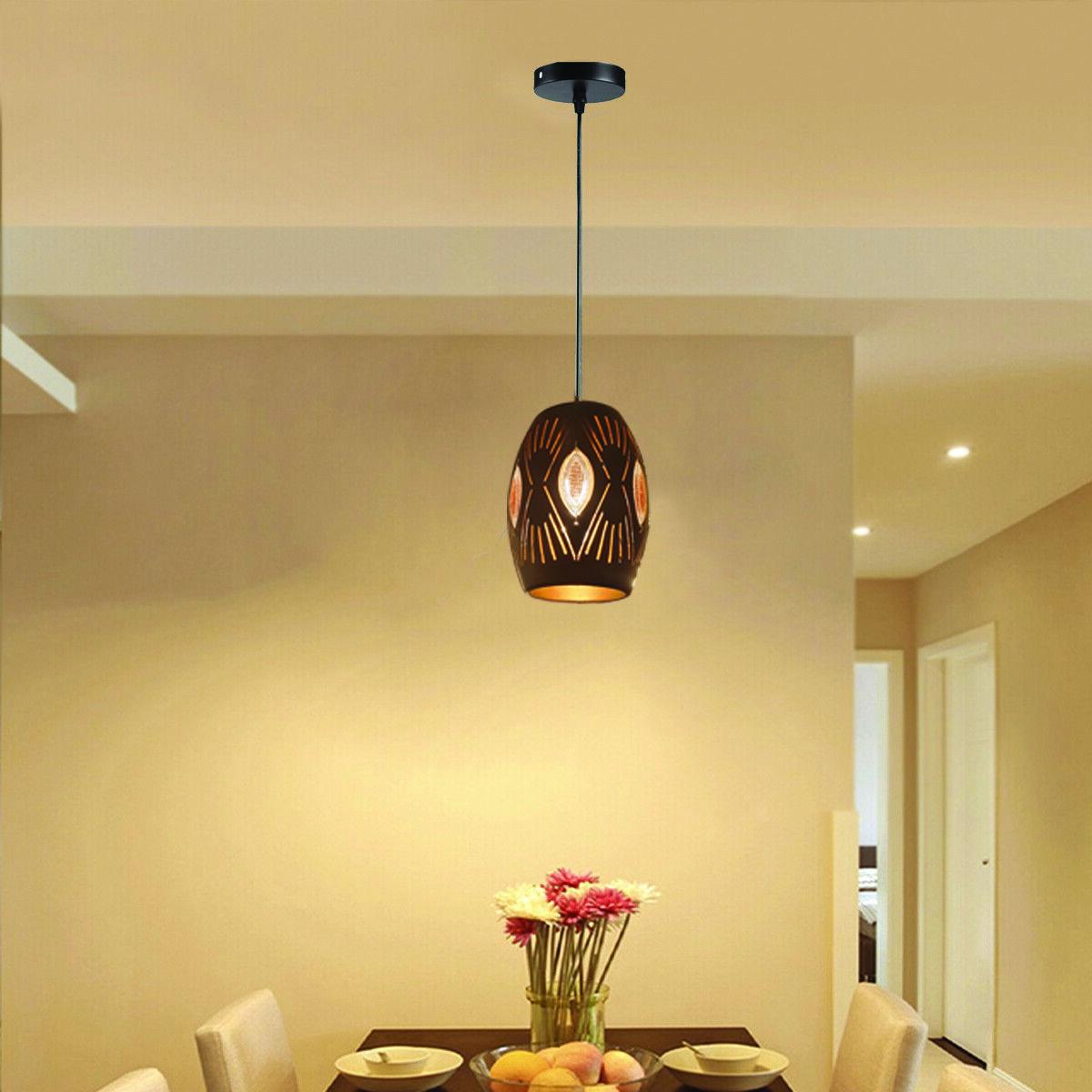 Vintage Industrial Metal Ceiling Pendant Light Shade Modern Hanging Retro Light Ebay