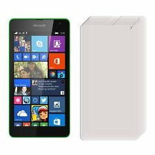 3 x Clear LCD Screen Protector Film Foil Saver For Microsoft Nokia Lumia 535