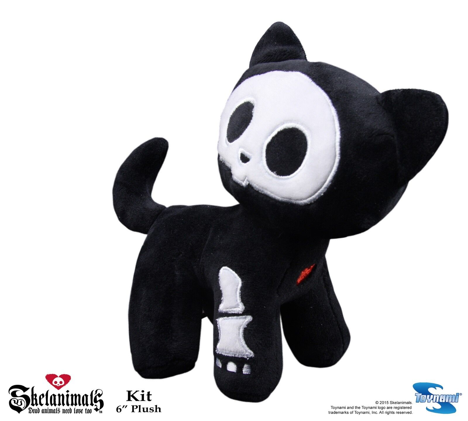 Kit Houndstooth New Toys Doll Licensed skel-lf-07 Skelanimals Wallet