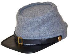 Confederate Southern Grey Kepi Hat Cap Large 58/59cms Gettysburg Antietam Shiloh