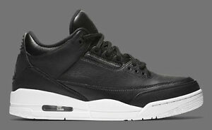 2016 Nike Air Jordan 3 III Retro Cyber Monday Black White Size 8. 136064-020 1 2