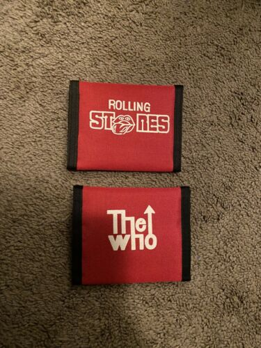 Vintage Wallets The Who And The Rolling Stones