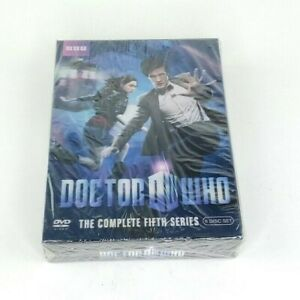 Doctor-Who-The-Complete-Fifth-Series-DVD-2010-6-Disc-Set-Season-5-dvd