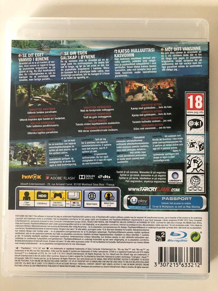 Farcry 3, PS3